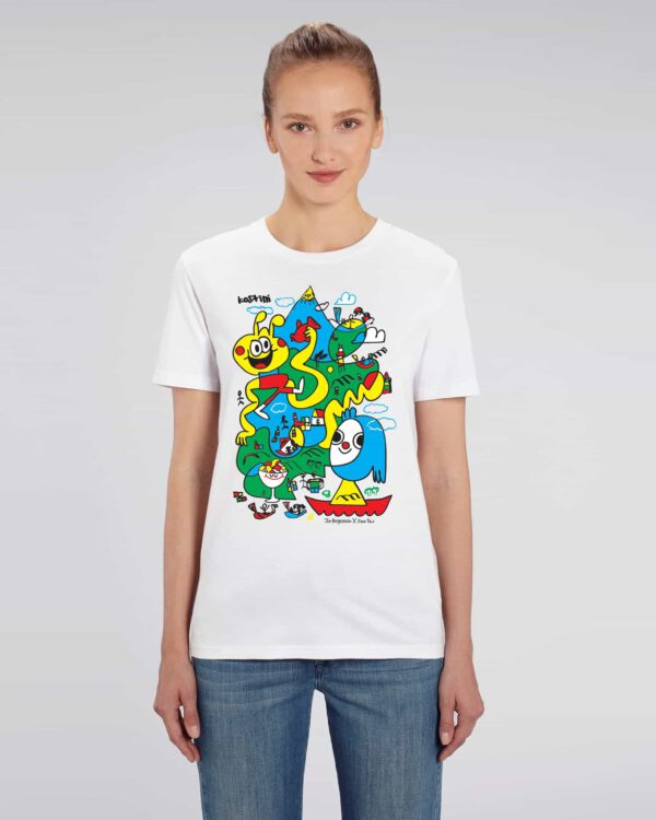 Jon Burgerman x Face This T-shirt
