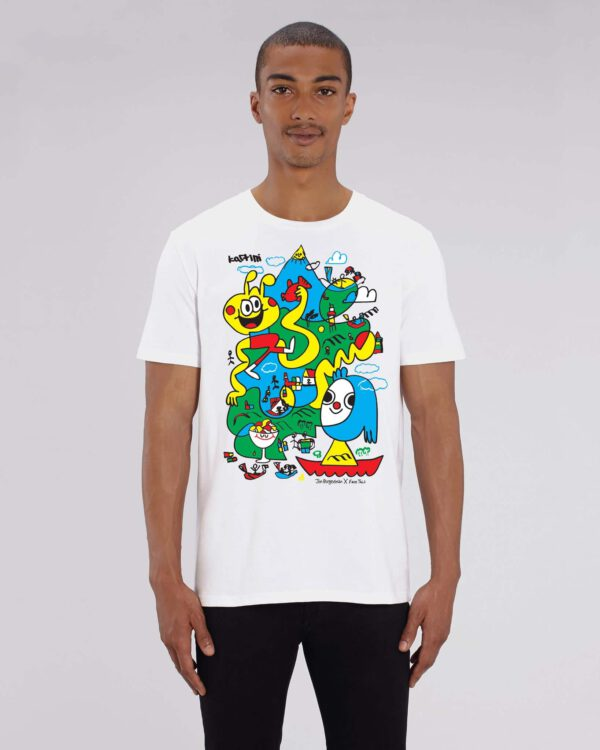 Jon Burgerman x Face This T-shirt