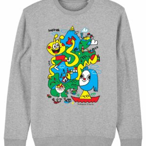 Jon_Burgerman_Face_This-sweater_Heather_Grey_Packshot_Front_Main_LR