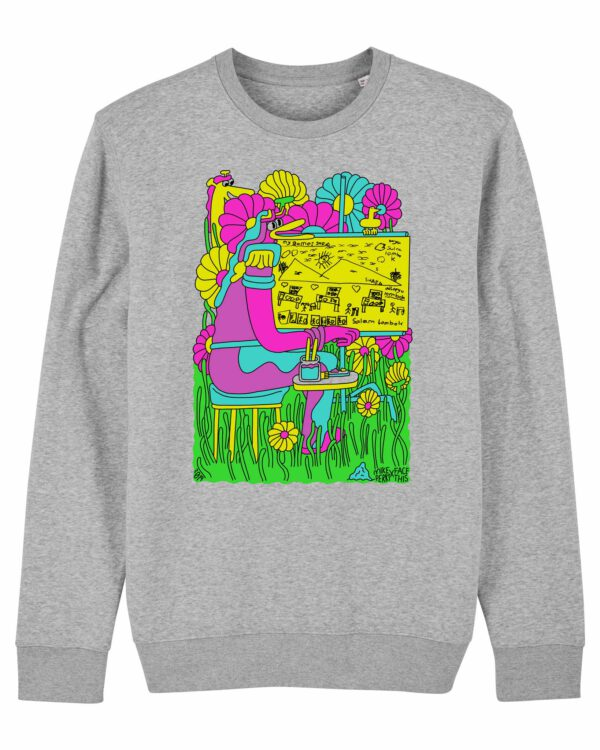Mike_Perry_Face_This_sweater_Heather_Grey_Packshot_Front_Main_LR