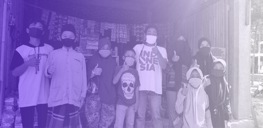 corona family support lombok 1